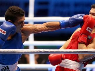 المغربي محمد ربيعي أول عربي يتوج ببطولة العالم في الملاكمة