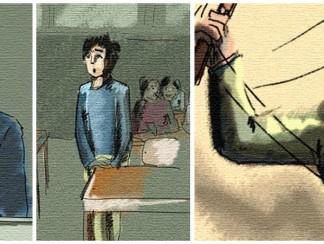 المدرسة، وقمع السلطة