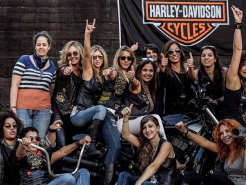 تعرفوا إلى نساء هارلي ديفيدسون في لبنان