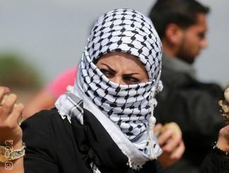 يلقين الحجارة ويصنعن المولوتوف، مشاركة الفلسطينيات في النضال ليست جديدة