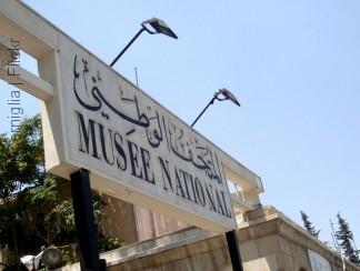 متحف دمشق الوطني: إنسان الكهوف هارباً