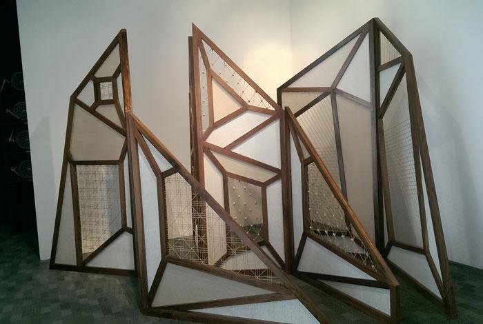 أسبوع دبي للتصميم - من جناح الإمارات في المعرض