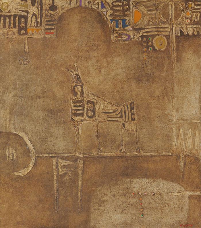 سوق الفن العربي - فرس للمدينة