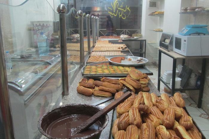 مطاعم السوريين في مصر - حلويات-شرقية-سورية