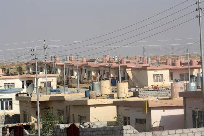 الغجر في كردستان .. غجر كردستان يتخلون عن حياة الترحال - مجمع-آدار-السكني-الخاص-للغجر--محافظة-دهوك