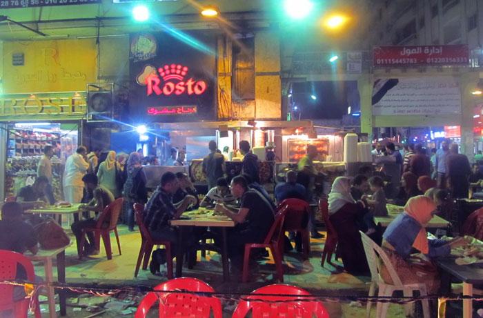 مطاعم السوريين في مصر - مطعم-رستو-من-الخار