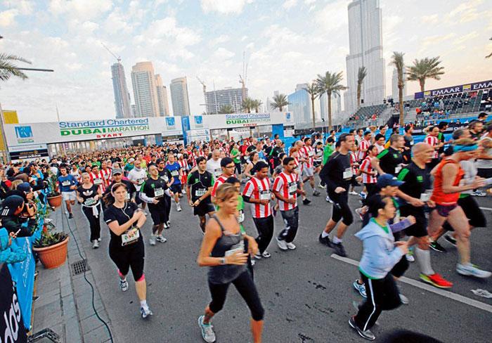 ماراثونات العالم العربي - ماراثون دبي السنوي