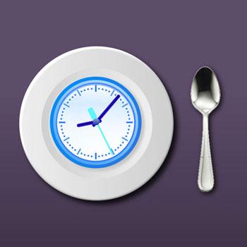 افضل تطبيقات الاقلاع عن العادات السيئة - تطبيق Eat-Slower