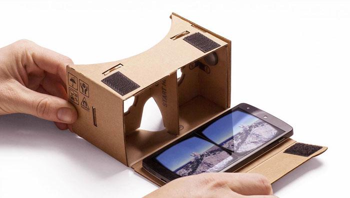 أبرز أجهزة الواقع الافتراضي - مدخلكم إلى عالم الواقع الافتراضي - Google-Cardboard