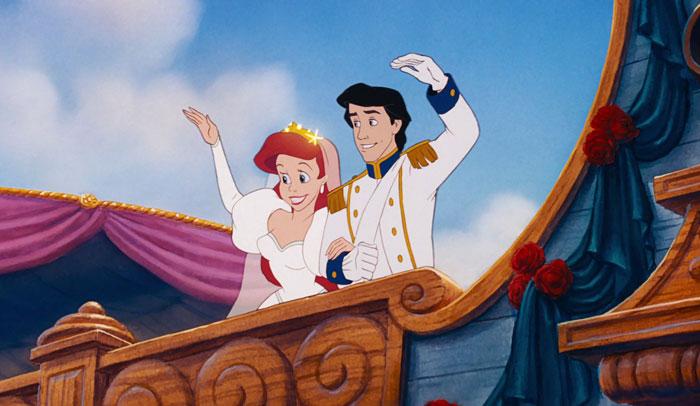 كيف تغيّر السينما الروايات - Little_Mermaid_Wedding