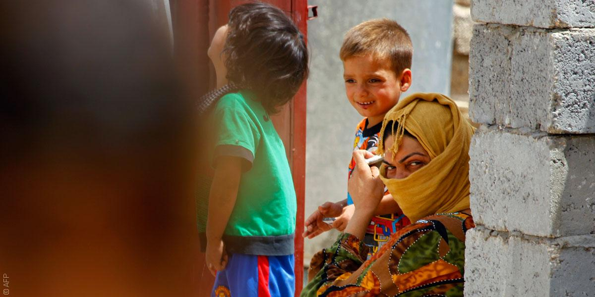 غجر كردستان يتخلون عن حياة الترحال