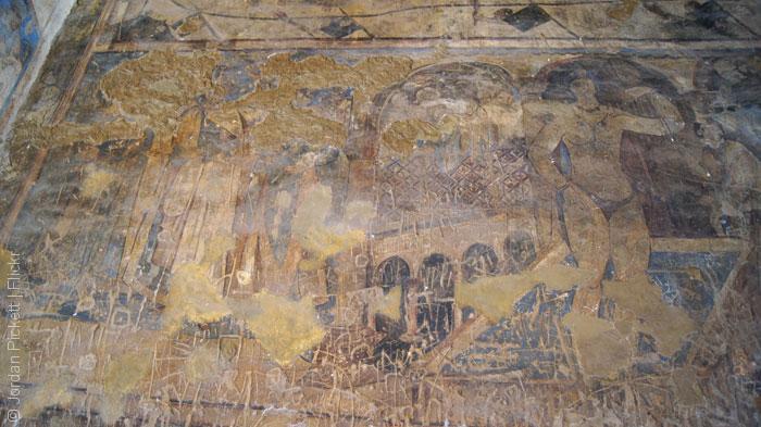 قصر أموي - قصر قصير عمرة - الملوك الستة