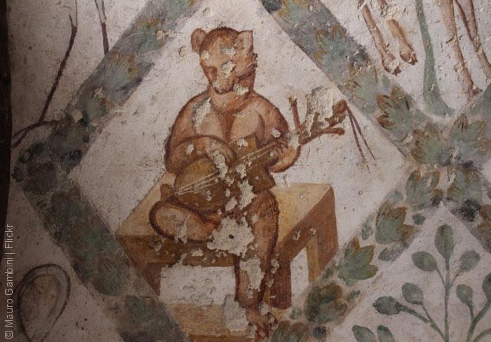 قصر أموي - قصر قصير عمرة - فريسكو 3