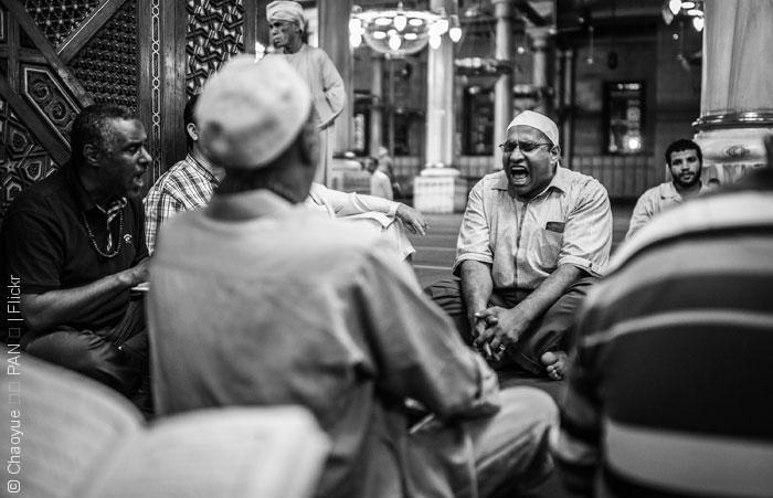 Sufi-Muslims-Praying_Chaoyue-الطرائق الصوفية في مصر - كيف يستخدم النظام المصري الطرائق الصوفية