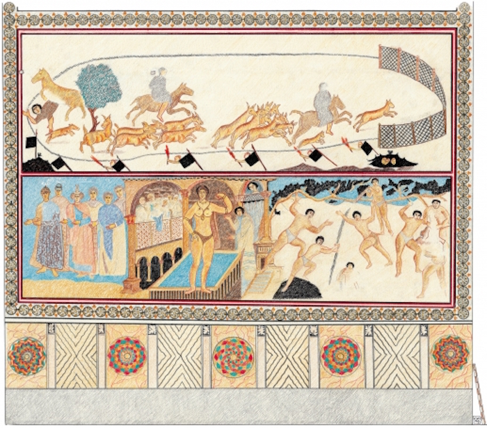 قصر أموي - قصر قصير عمرة - الملوك الستة 2