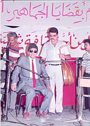 الأغنية السياسية في تونس - الشيخ إمام مع فرقة البحث الموسيقي