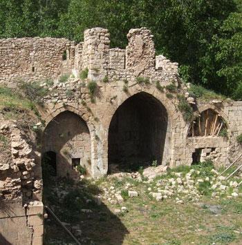 مدرسة قوبهان الأثرية في مدينة العمادية