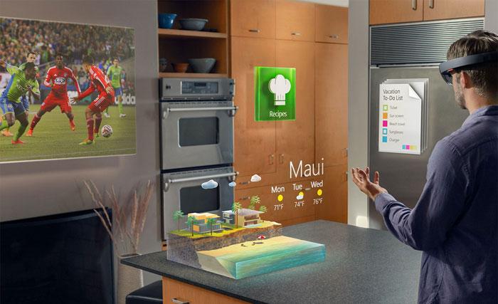 اختراعات تكنولوجية 2015 - HoloLens