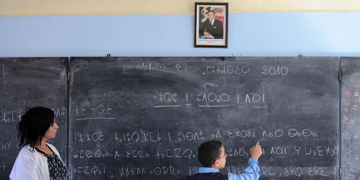 لغات العالم العربي