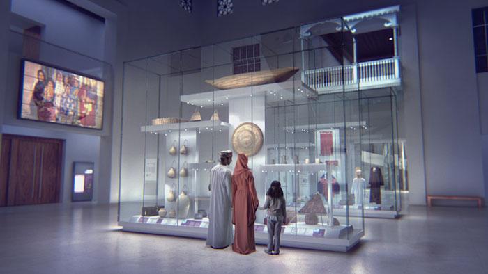 المتحف الوطني في عمان من الداخل