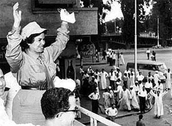 مدى حضور المرأة المصرية في السياسة - رواية عطية