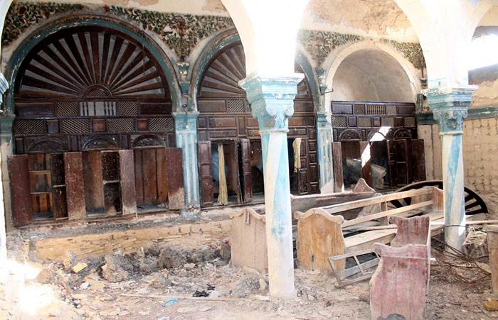المعالم الدينية في تونس - أثار-الكنيس-اليهودي-بمدينة-المكنين