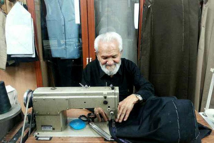 الخياط أبو الفضل عرب - خياط الرئيس الايراني حسن روحاني