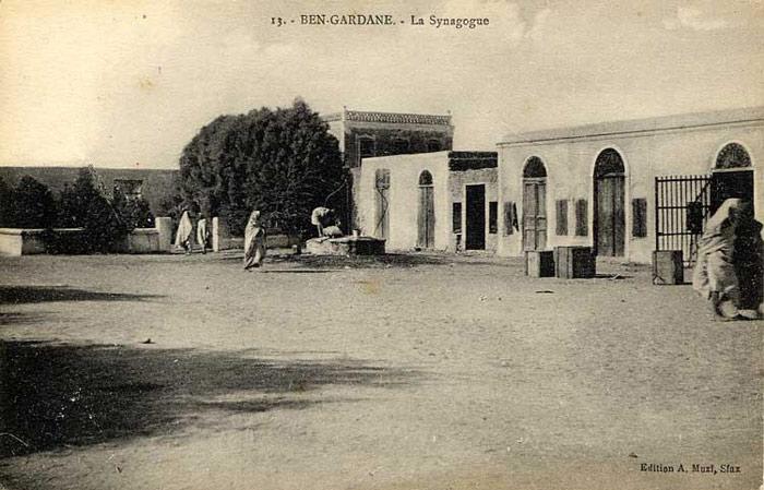 المعالم الدينية في تونس - المعبد-اليهودي-ببنقردان-الذي-إندثر