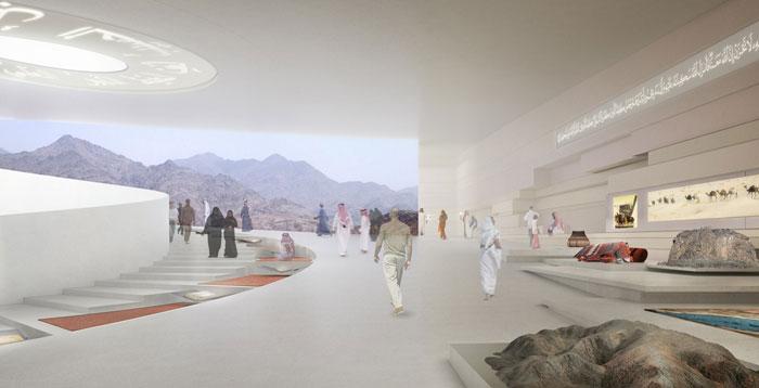 متحف واحة الايمان في السعودية - التصميم