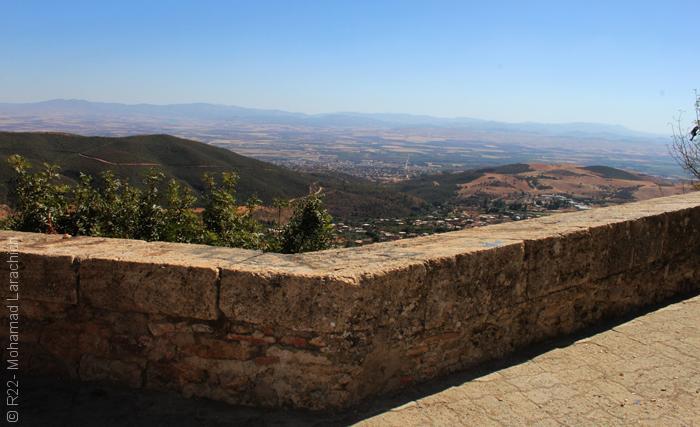 مدينة مليانة الجزائرية - السور الروماني 3
