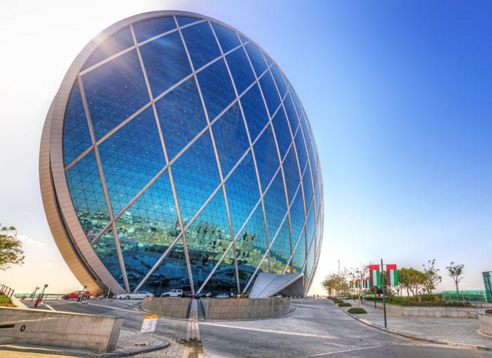 اجمل مباني ابوظبي - مبنى الدار