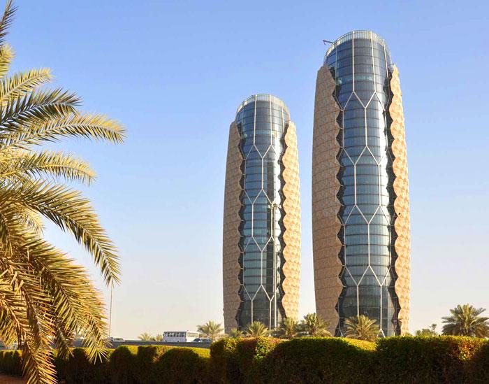 اجمل مباني ابوظبي - أبراج البحار