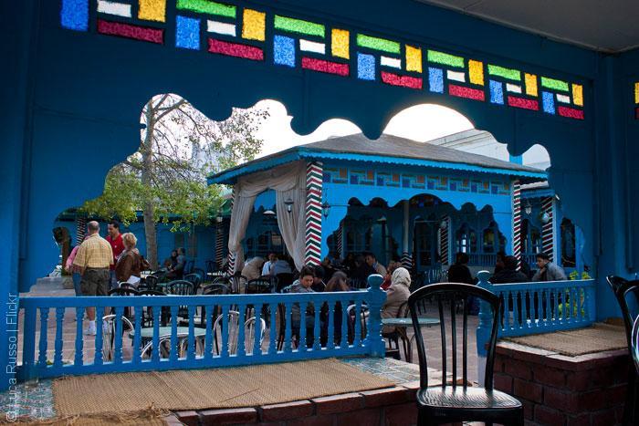 مقاهي تونس - مقهى الصفصاف