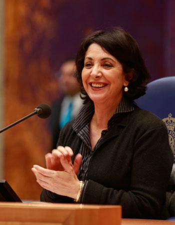 نساء عربيات في مناصب سياسية في أوروبا - خديجة عريب