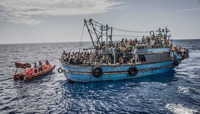 ازمة اللاجئين - الهجرة غير الشرعية الى اوروبا
