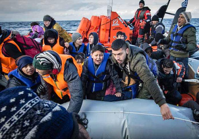 ازمة اللاجئين - الهجرة غير الشرعية