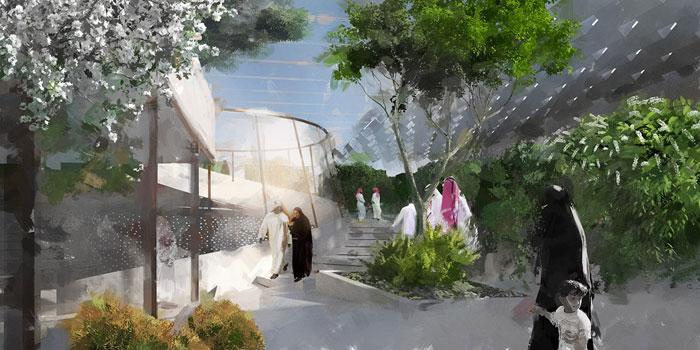 متحف واحة الايمان في السعودية