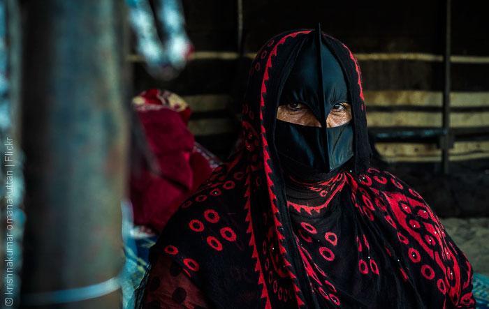 البرقع - امرأة غجرية في عمان