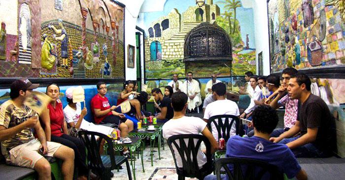 مقاهي تونس - مقهى الشواشين