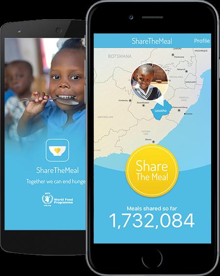 تطبيق ShareTheMeal
