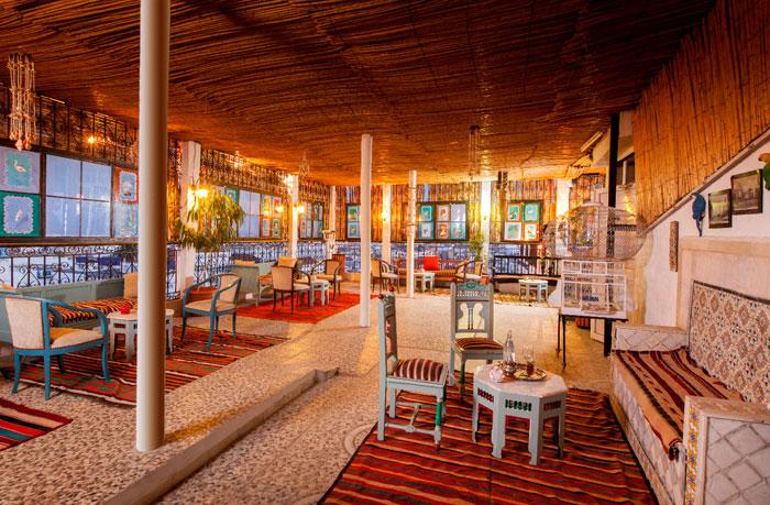 مقاهي تونس - قصر السرايا