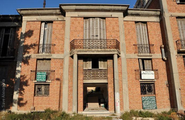 المباني التراثية في الاسكندرية - فيلا أجيون