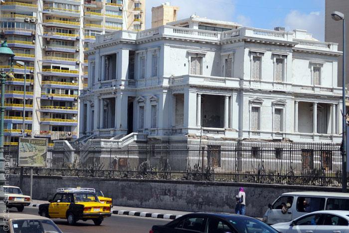 المباني التراثية في الاسكندرية - قصر عزيزة فهمى