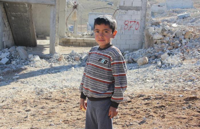 كوباني - طفل