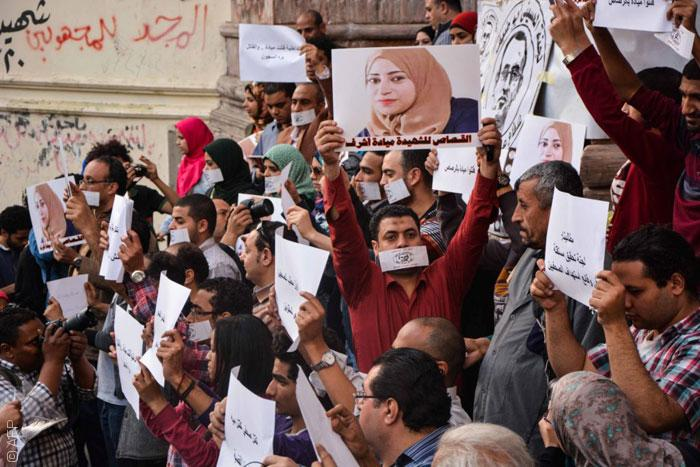 سلالم نقابة الصحافيين - ميادة أشرف