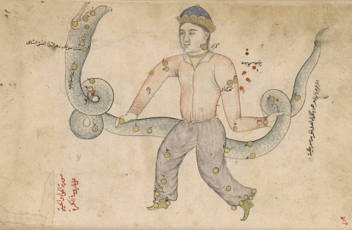 الأبراج عند العرب - Azophi_Ophiuchus