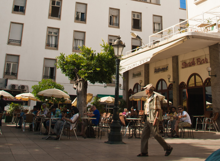 مقاهي المغرب - أبرز مقاهي الرباط - مقهى باليما