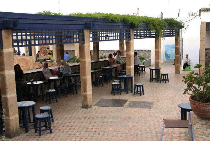 مقاهي المغرب - أبرز مقاهي الرباط - مقهى الأوداية