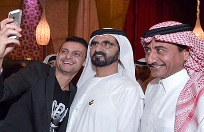 السياسيين العرب والسيلفي - محمد بن راشد آل مكتوم