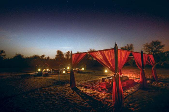 انشطة سياحية في دبي - خيمة
